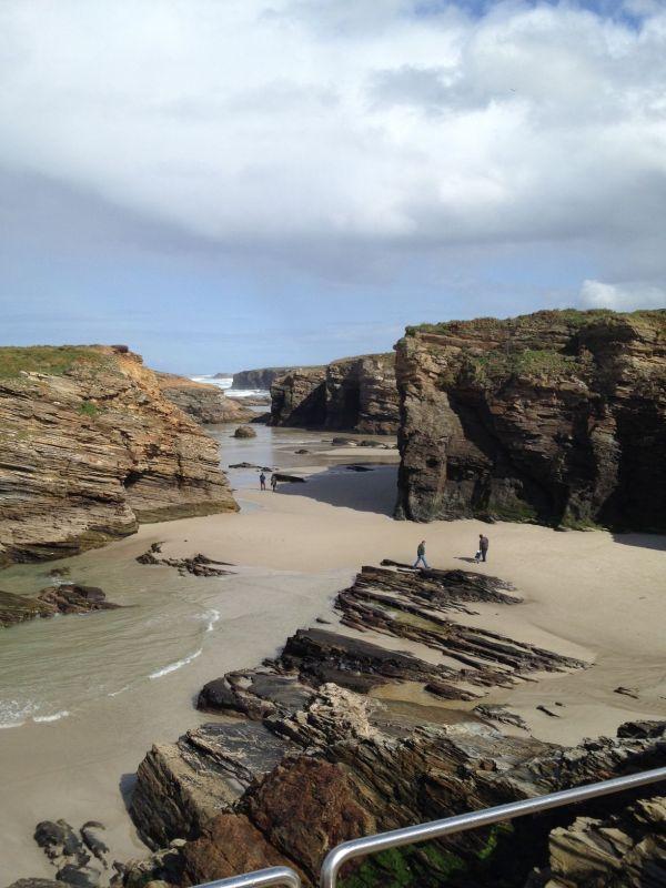 Playa de las Catedrales. Galicia. España.