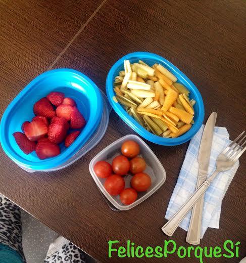 Mi comida Mindfulness hecha y comida por mi