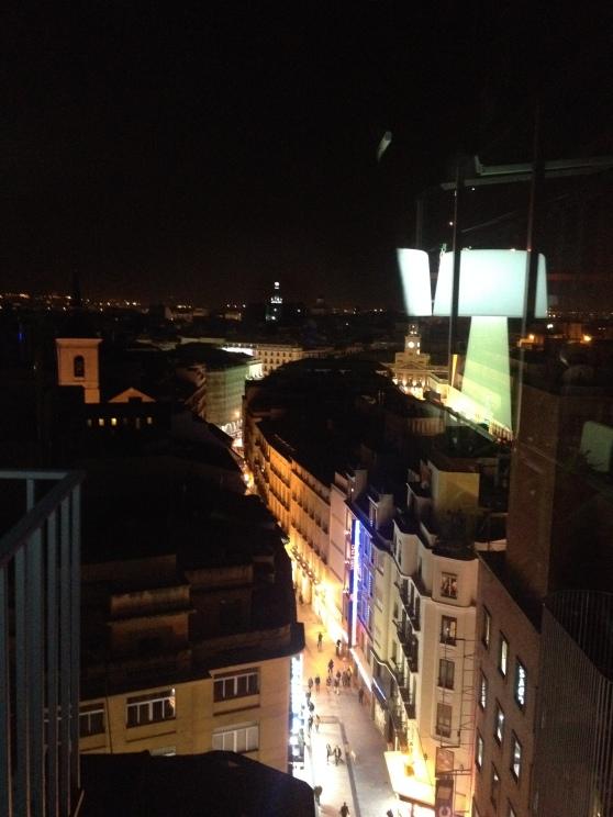 Madrid desde una de sus terrazas