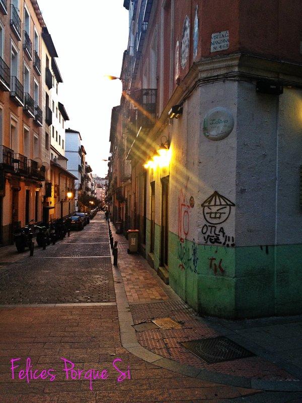 Siempre hay espacio para decir: ¡Otla vez! . Malasaña. Madrid.