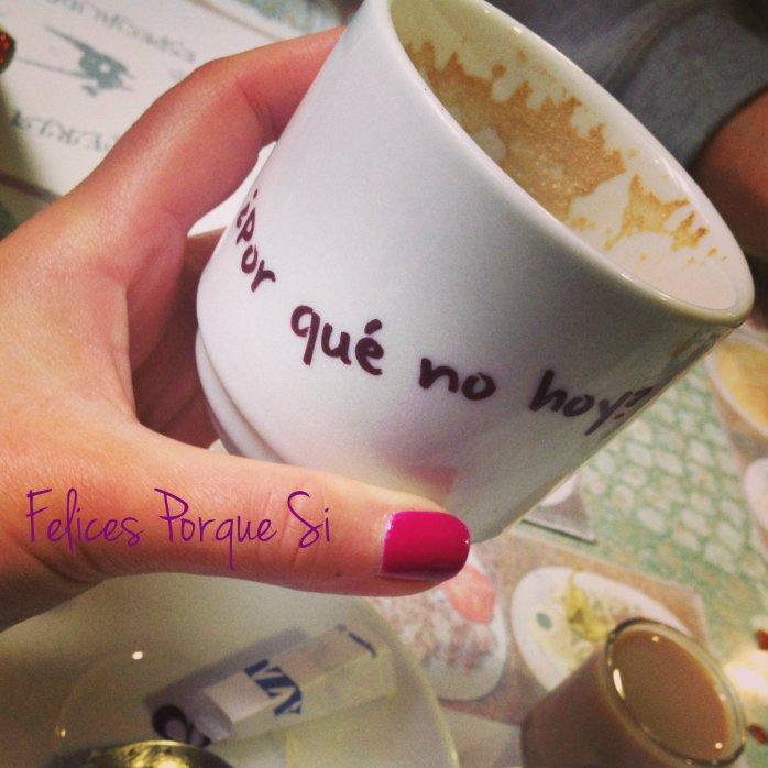 Esta taza llegó a mí en un restaurante gallego...¿Por qué no hoy?